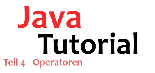 Java-Tutorial Teil 4 Logo