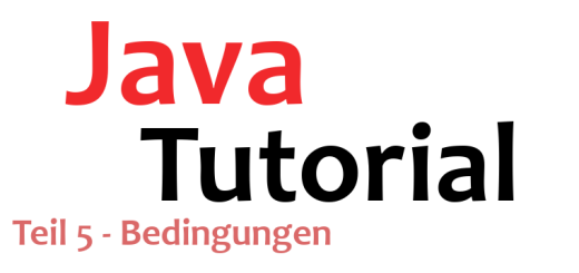 Java-Tutorial Teil 5 Logo
