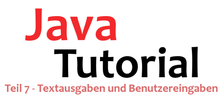 Java-Tutorial Teil 7 Logo