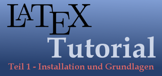 LaTeX-Tutorial Teil 1 Logo