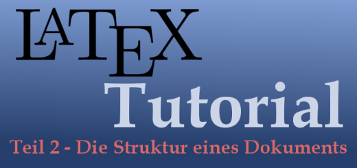 LaTeX-Tutorial Teil 2 Logo
